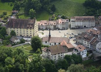 Die ehemalige Komturei der Ritter des Heiligen Johannes zu Jerusalem in Freiburg, in der gegenwärtig das Amt für Kulturgüter untergebracht ist.