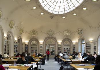 BCU, la salle de lecture