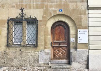 Porte d'entrée CM - Eingangstür JR