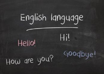 Cours d'anglais- Englishunterricht