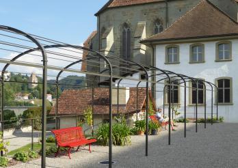 Journées européennes du patrimoine 2016 dans les jardins des Cordeliers à Fribourg