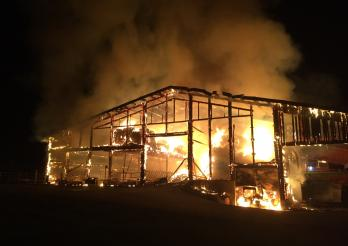 Incendie Montévraz