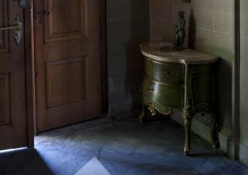 Auf Entdeckungsreise durch das Herrenhaus de Weck in Villars d'En bas in Pierrafortscha.