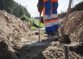Bodenschutz beim Bauen
