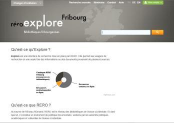 Explore, interface de recherche en bibliothèque