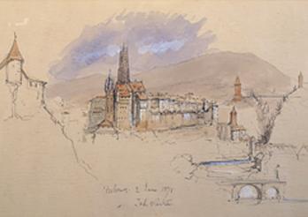 Eglise de saint Jean à Fribourg