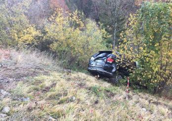 Accident de circulation à Cerniat