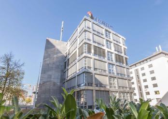 Das ehemalige Swisscom Gebäude