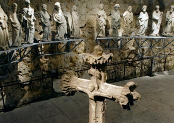 Sculpture sur pierre, médiévale et baroque