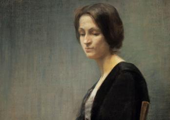 Mathilde Mayr von Baldegg-de Weck, La Résignée, 1896