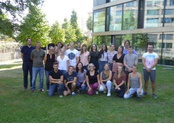 La délégation de la Heds aux Jeux olympiques de la Jeunesse 2018