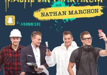 Mach ein Praktikum mit Nathan Marchon