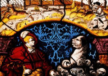 Inconnu, Vitrail de Sebold de Praroman, 1541