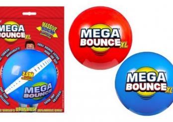 Photo des Spielzeugballs Mega Bounce XL