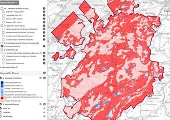 Online-Karten - Thema Umwelt