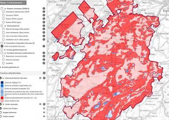 Portail cartographique - Thème Environnement