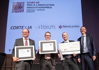 Cortexia, Texum, NanoLockin und Olivier Curty