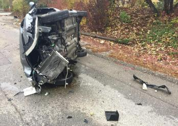 Accident de la circulation avec blessé à Matran