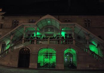Hôtel cantonal en vert