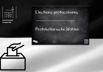 Elections protocolaires | Protokollarische Wahlen