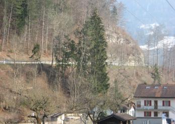 Route cantonale En Bataille