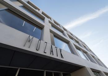 Gebäude Mozaïk