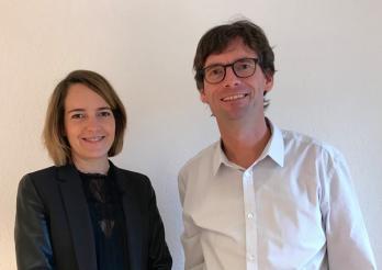 Joana de Weck und Martin Leu, Generalsekretärin ou Generalsekretär der Raumplanungs-, Umwelt- und Baudirektion
