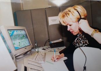 Premier appel de la Centrale 144 le 1er février 1999