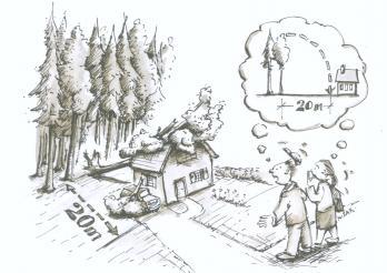 Bauten im Wald oder Waldesnähe