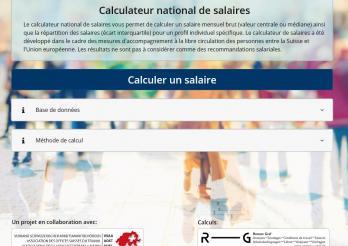 Calculateur des salaires