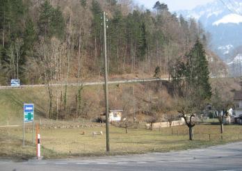 Kantonsstrasse En Bataille
