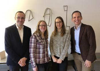 Collaboratrices et collaborateurs du Service de la culture (nouvelle photo à venir avec l'ensemble de l'équipe actuelle)