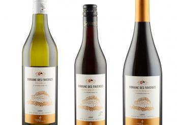 Nouvelles étiquettes des vins des Faverges