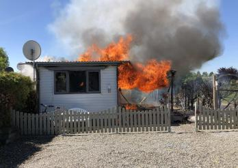 Incendie de deux mobil-homes à Sugiez
