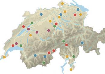 modellvorhaben - karte