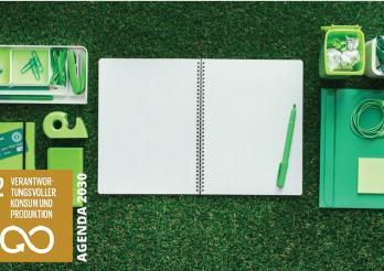 umweltgerechtes Büromaterial © Tous droits réservés
