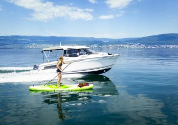 En toute sécurité sur nos lacs