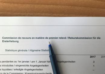 Commission de recours en matière de 1er relevé