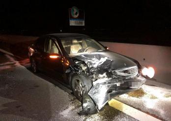 Deux blessés lors d'une collision sur l'A1 à Ried b. Kerzers