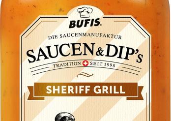 das Photo zeigt die Flasche Sheriff Grill
