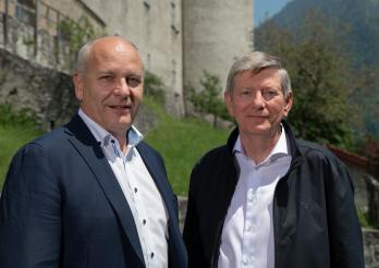 Jean-Pierre Doutaz, Président & Jean-Jacques Marti, Président d'honneur