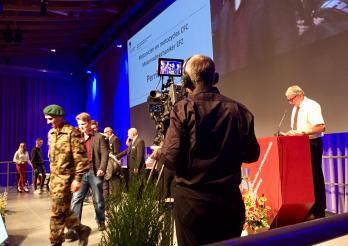 Remise des titres fédéraux à Forum Fribourg