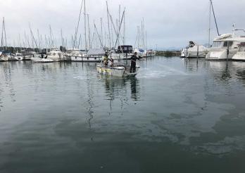 Le port de Portalban pollué au diesel