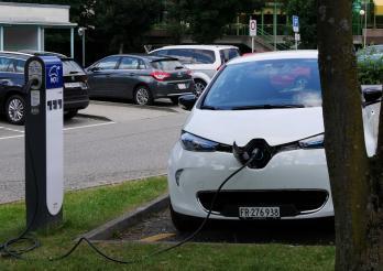 Photo de voiture électrique