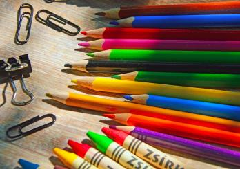 image de fournitures scolaire