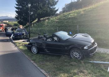 Accident avec blessés à Le Bry