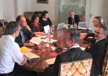 Séance du Conseil d'Etat hors les murs, en Veveyse