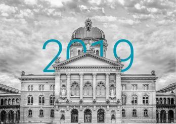 Le Palais fédéral et l'année 2019