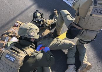 Une Task Force sanitaire au sein du groupe d'intervention de la Police cantonale