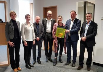 Verleihung des Labels für die Zweisprachigkeit an das Iaeza
